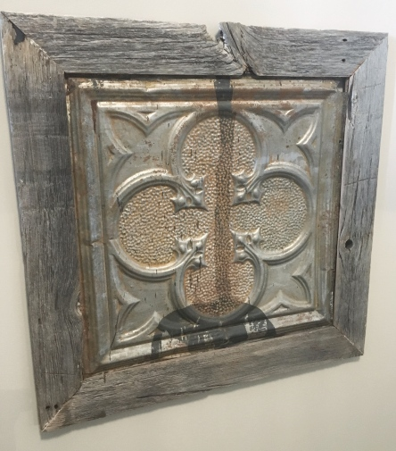 Beautiful reclaimed crafted artwork
