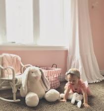 Sweet baby girl nursery