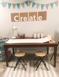 Arts and crafts space