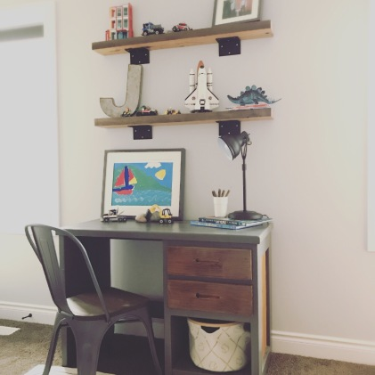 Room to work and play